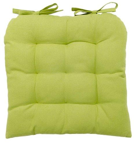 Vanki Soft Chair Cushion Pad 14 X 14 Green Chair