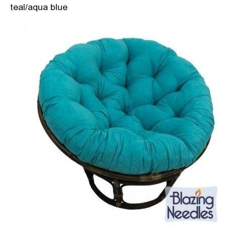 Microsuede Papasan Cushion Floor Pillow Pet Bed 48