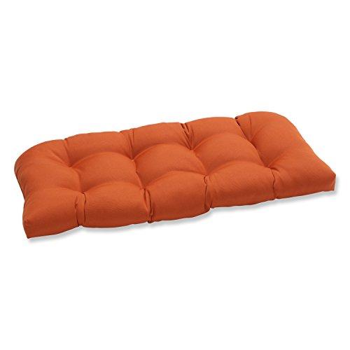 Pillow Perfect Indoor Outdoor Cinnabar Wicker Loveseat