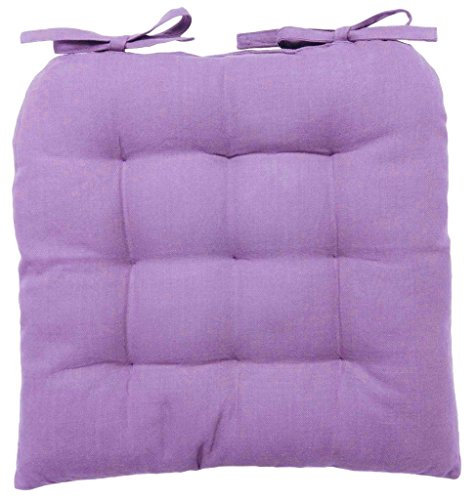 Vanki Soft Chair Cushion Pad 14 X 14 Light Purple
